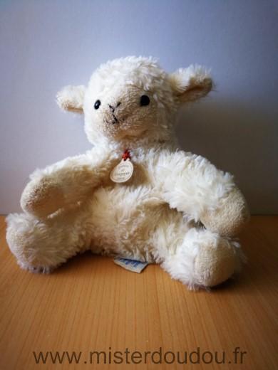 doudou agneau doudou et compagnie mouton ecru beige. Black Bedroom Furniture Sets. Home Design Ideas