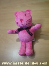 Doudou Chat Ciad Rose