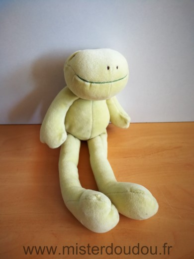 Doudou Grenouille Moulin roty Vert