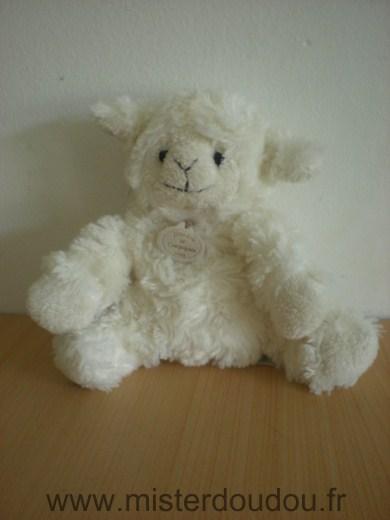 doudou mouton doudou et compagnie agneau blanc mister. Black Bedroom Furniture Sets. Home Design Ideas