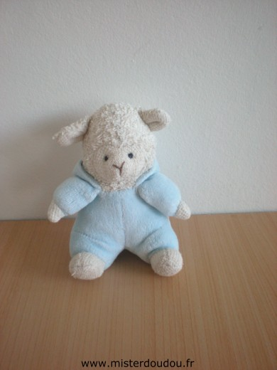 doudou mouton ik a bleu mister doudou sos doudou perdu. Black Bedroom Furniture Sets. Home Design Ideas