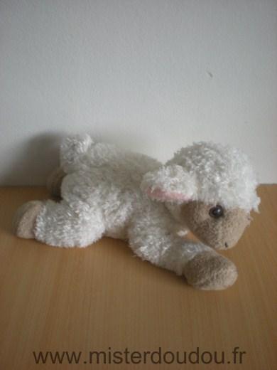 Doudou mouton maisons du monde blanc beige mister doudou sos doudou perdu - Peau de mouton maison du monde ...