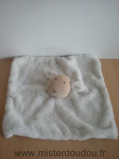 doudou mouton natalys ecru dessous ray blanc beige mister doudou sos doudou perdu. Black Bedroom Furniture Sets. Home Design Ideas