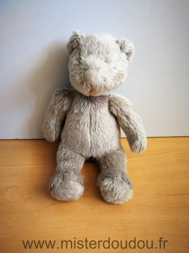Doudou Ours Moulin roty Beige basile lola