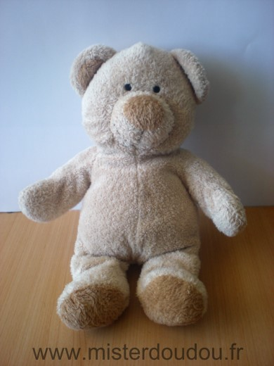 Doudou Ours Nicotoy Beige